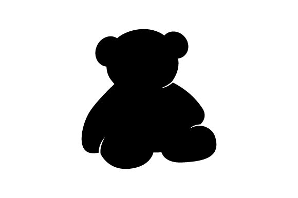 Download Free Teddy Bear Silhouette Svg Cut File By Creative Fabrica Crafts for Cricut Explore, Silhouette and other cutting machines.