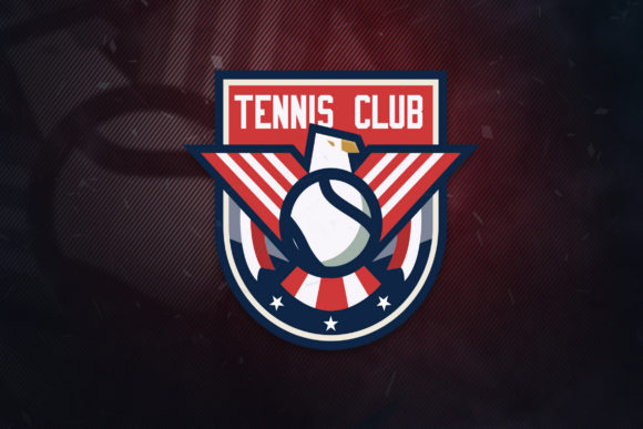 Print on Demand: Tennis Club Sports Logo Graphic Logos By ovoz.graphics - Image 1