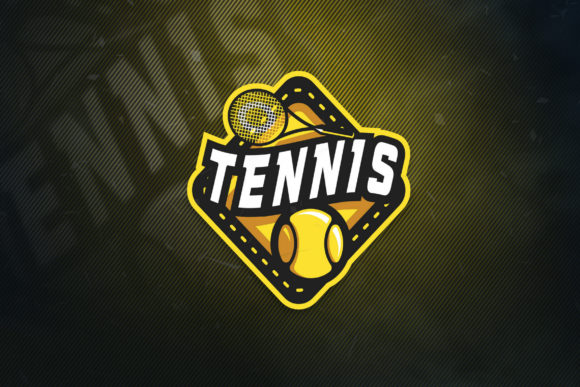 Print on Demand: Tennis Sports Logo Graphic Logos By ovoz.graphics
