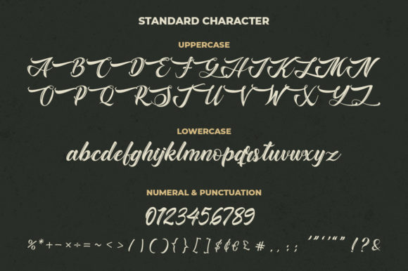 Print on Demand: Baghotta Script & Handwritten Font By Kotak Kuning Studio - Image 6