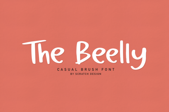 Print on Demand: The Beelly Script & Handwritten Font By Scratch Design