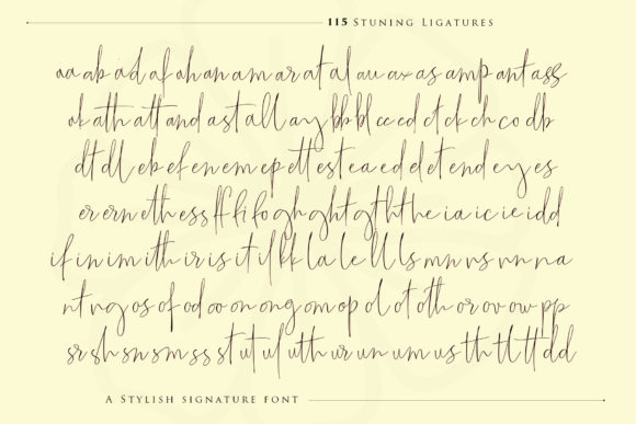 Print on Demand: The Fantastic Script & Handwritten Font By Sulthan Studio - Image 12