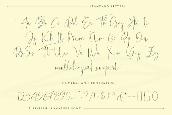 Print on Demand: The Fantastic Script & Handwritten Font By Sulthan Studio - Image 13