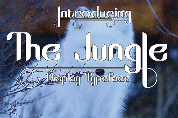 Print on Demand: The Jungle Display Font By Black Lotus - Image 2