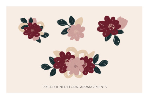 The Pretty Garden Seamless Pattern Set Graphic Patterns By Bron Alexander - Image 5
