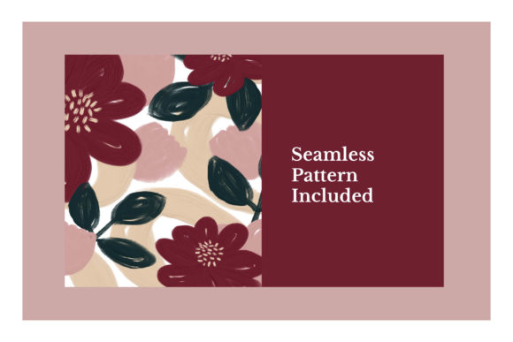 The Pretty Garden Seamless Pattern Set Graphic Patterns By Bron Alexander - Image 2