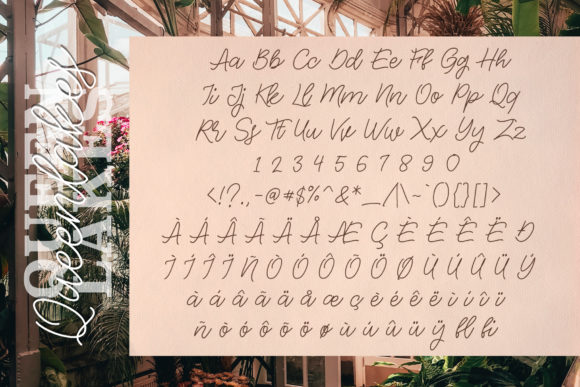 Print on Demand: The Queenlakes Script & Handwritten Font By Typia Nesia - Image 5