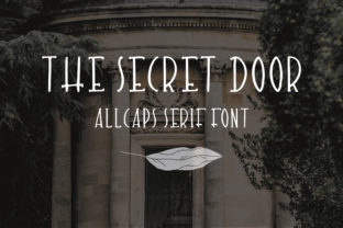 The Secret Door Font By Sentimental Postman