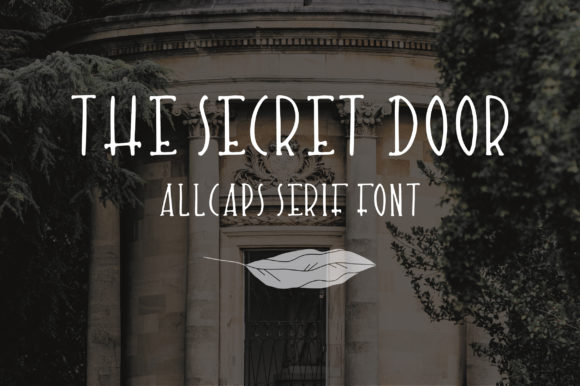 Print on Demand: The Secret Door Script & Handwritten Font By Sentimental Postman