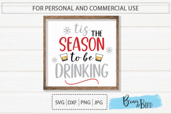 Print on Demand: Tis the Season-Drinking Graphic Crafts By Jessica Maike - Image 2