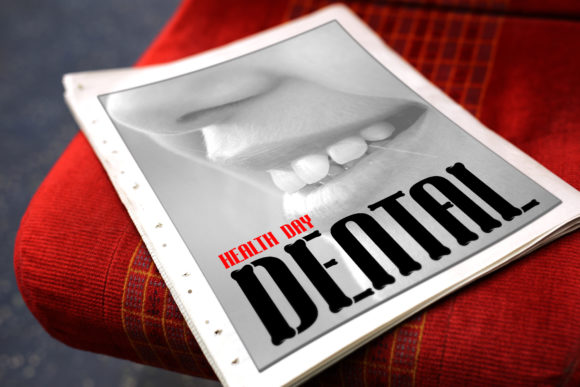 Print on Demand: Tooth Decorative Font By da_only_aan - Image 4