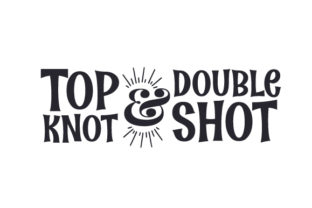 Top Knot & Double Shot Craft Design By Creative Fabrica Crafts