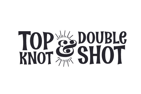 Download Free Top Knot Double Shot Svg Cut File By Creative Fabrica Crafts for Cricut Explore, Silhouette and other cutting machines.