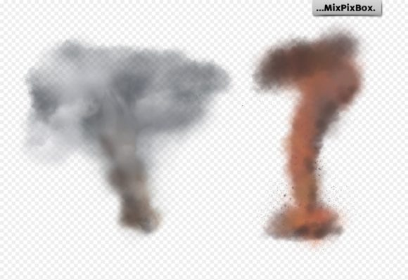 Print on Demand: Tornado Photo Overlays Graphic Layer Styles By MixPixBox - Image 7