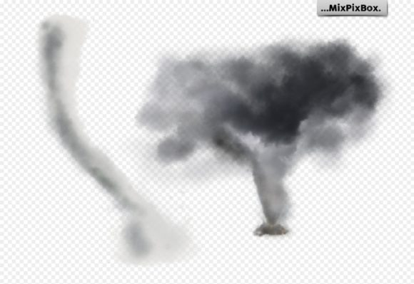 Print on Demand: Tornado Photo Overlays Graphic Layer Styles By MixPixBox - Image 8