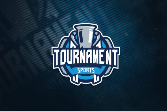 Print on Demand: Tournament Sports Logo Graphic Logos By ovoz.graphics - Image 1