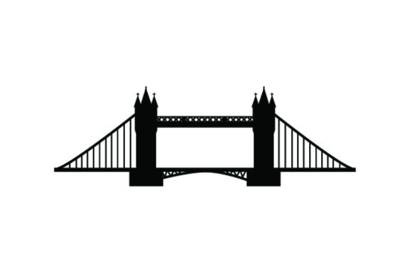 Download Free Tower Bridge Svg Cut File By Creative Fabrica Crafts Creative for Cricut Explore, Silhouette and other cutting machines.