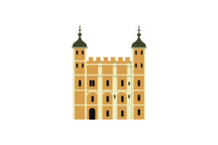 Tower of London UK Designs Craft Cut File By Creative Fabrica Crafts