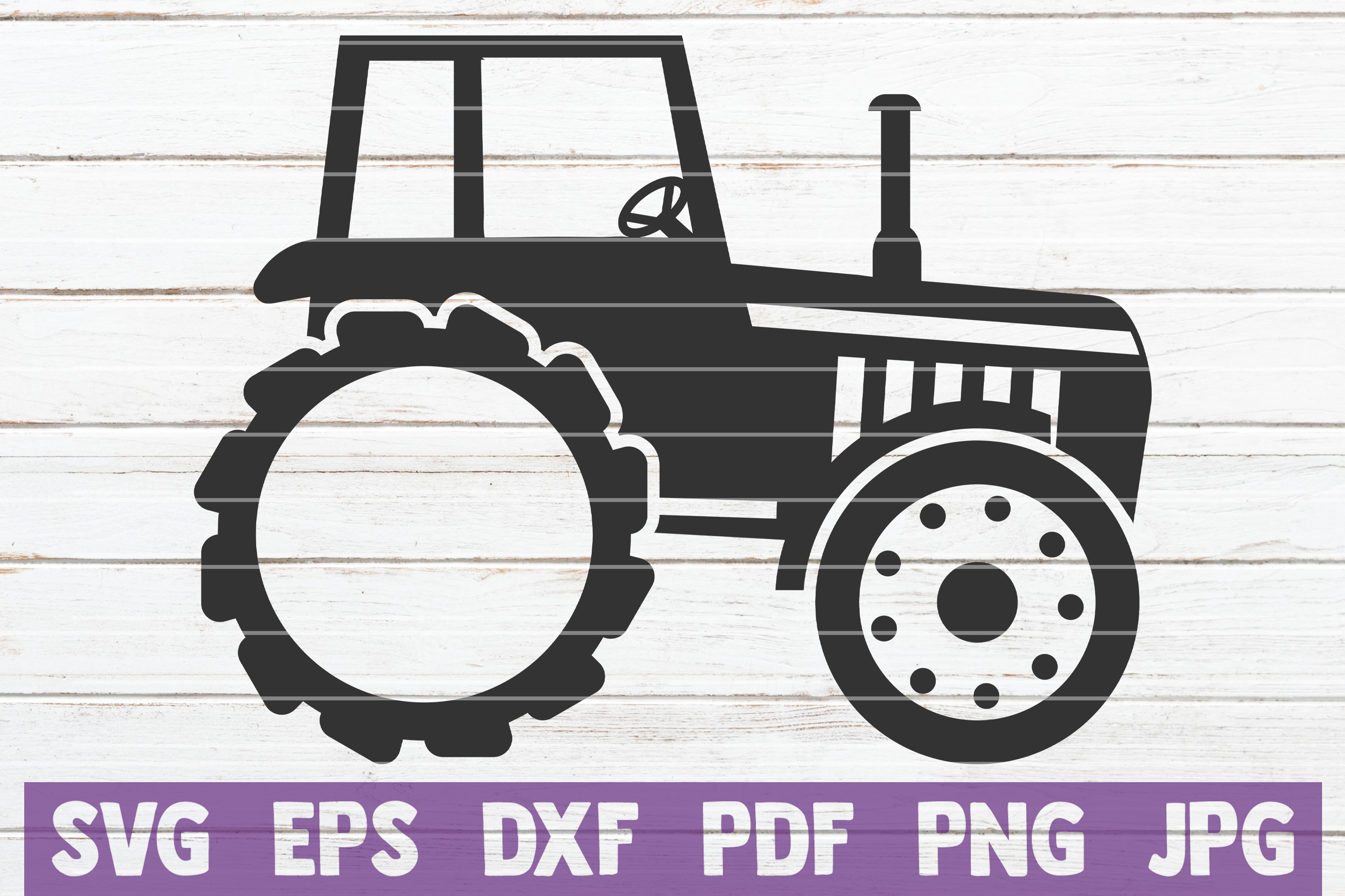 Download Free Tractor Monogram Cut File Graphic By Mintymarshmallows for Cricut Explore, Silhouette and other cutting machines.