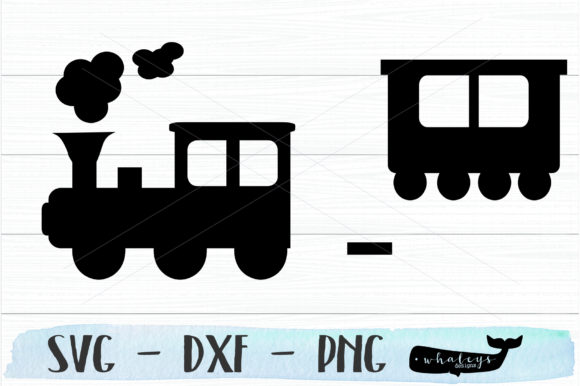 Download Free Train Graphic By Whaleysdesigns Creative Fabrica for Cricut Explore, Silhouette and other cutting machines.