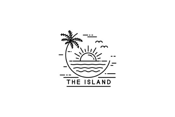 Tropical Island Graphic By sabavector Image 1