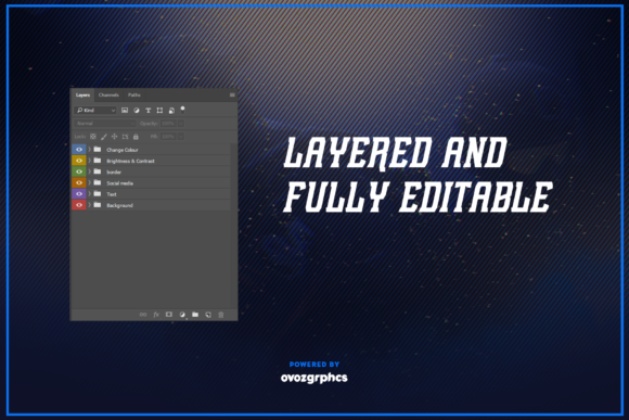 Print on Demand: Twitch Layout Bundle Graphic Graphic Templates By ovoz.graphics - Image 14