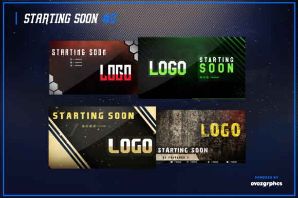 Print on Demand: Twitch Layout Bundle Graphic Graphic Templates By ovoz.graphics - Image 7