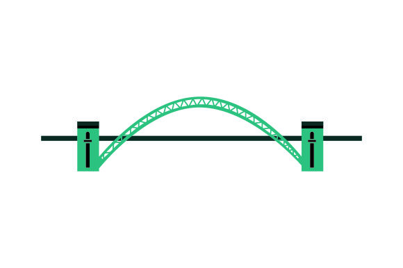 Download Free Tyne Bridge Svg Cut File By Creative Fabrica Crafts Creative for Cricut Explore, Silhouette and other cutting machines.
