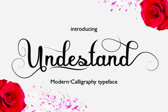 Print on Demand: Undestand Script & Handwritten Font By faisal_Alfaraby