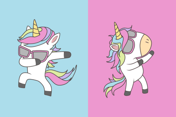 Download Free Unicorn Pop Graphic By Fadhil Figuree Creative Fabrica for Cricut Explore, Silhouette and other cutting machines.