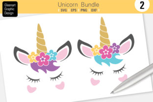 Unicorn Svg Clipart Graphic By Gleenart Graphic Design