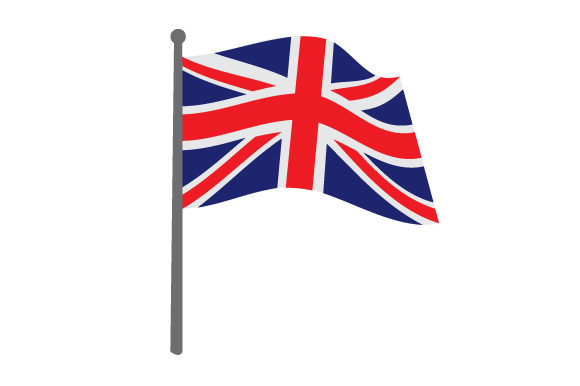 Union Jack Flag Design Craft Design By Creative Fabrica Crafts Image 1