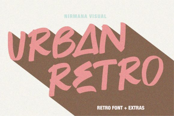 Print on Demand: Urban Retro Display Font By Sigit Dwipa