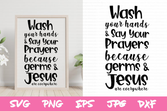 Download Free Wash Your Hands Sign Svg Christian Svg Graphic By Thejaemarie for Cricut Explore, Silhouette and other cutting machines.