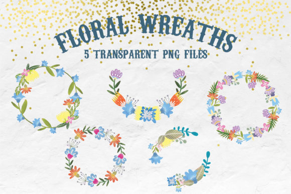 Watercolor Folk Flowers Summer Set Graphic Illustrations By SVG Story - Image 7