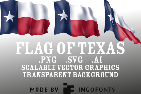 Download Free Waving Flag Of Texas Graphic By Ingofonts Creative Fabrica for Cricut Explore, Silhouette and other cutting machines.