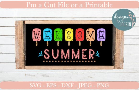 Print on Demand: Welcome Summer Graphic Crafts By Designs by Jolein