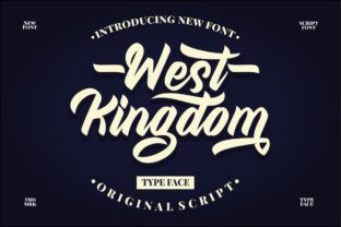 West Kingdom Font By putracetol