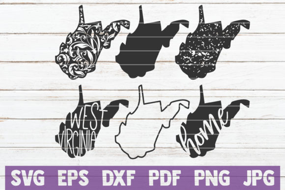 Download Free West Virginia State Svg Bundle Graphic By Mintymarshmallows for Cricut Explore, Silhouette and other cutting machines.
