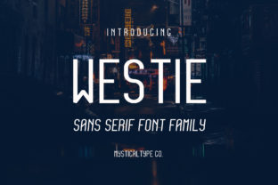 Westie Font By MysticalType