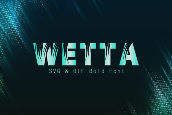 Print on Demand: Wetta Display Font By eSSeGraphic