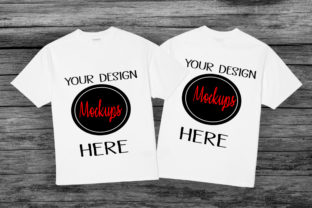 White Shirt Mockup,front and Back Mockup Graphic By Scmdesign