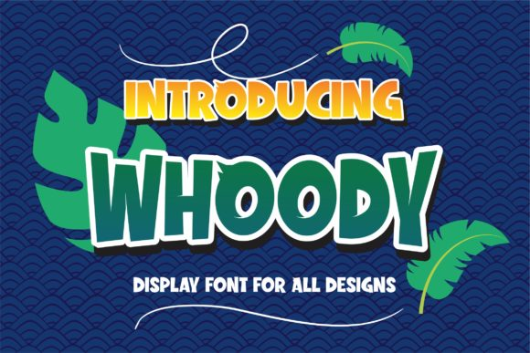 Print on Demand: Whoody Exhibición Fuente Por DUMADI