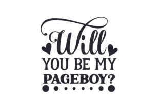 Will You Be My Pageboy? Craft Design By Creative Fabrica Crafts