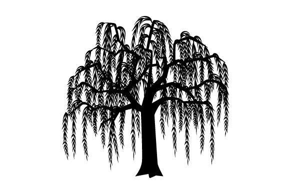 Willow Tree Svg Cut File By Creative Fabrica Crafts Creative