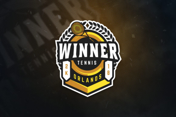 Print on Demand: Winner Orland E Sports Logo Graphic Logos By ovoz.graphics - Image 1