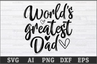 Download Free World S Greatest Dad Graphic By Aartstudioexpo Creative Fabrica for Cricut Explore, Silhouette and other cutting machines.