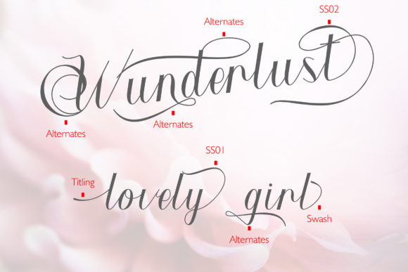 Wunderlust Font By yean.aguste Image 10