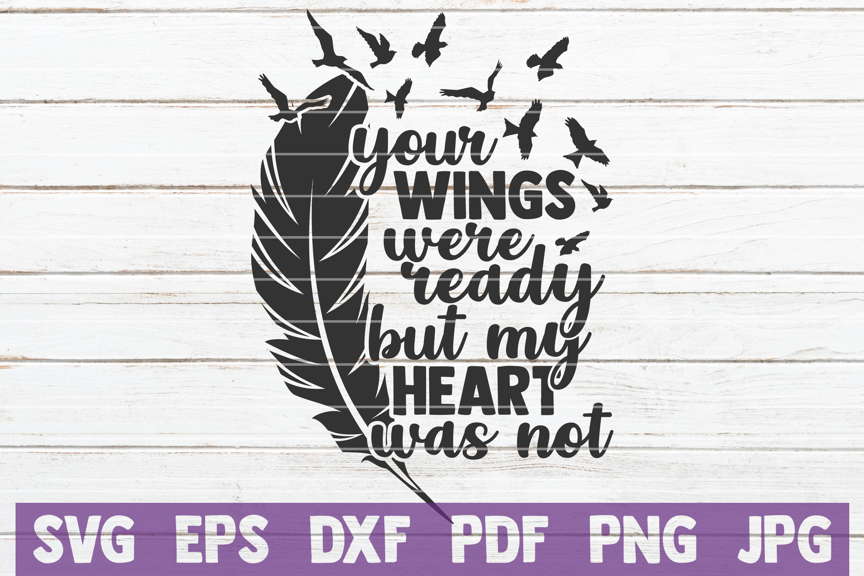 Download Free Your Wings My Heart Svg Cut File Graphic By Mintymarshmallows SVG Cut Files