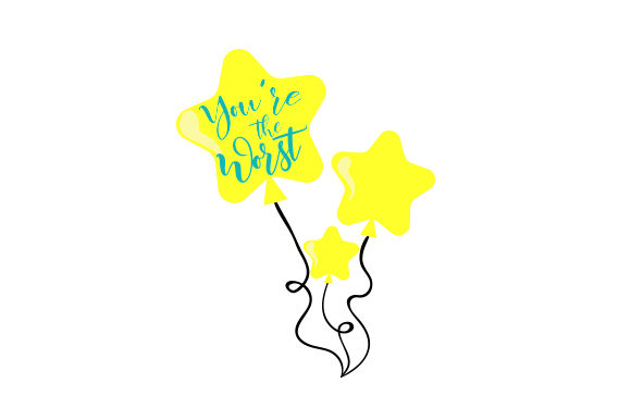 You're the Worst Friendship Craft Cut File By Creative Fabrica Crafts